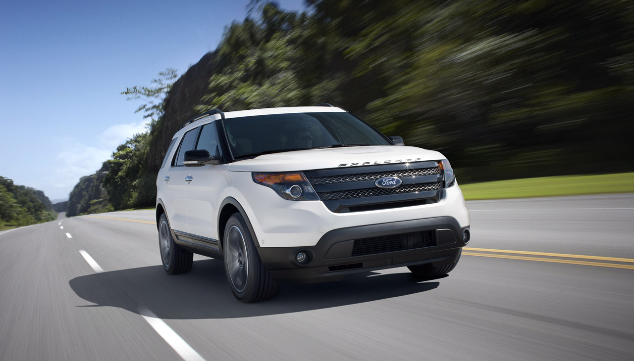 2013 ford explorer sport introduced with 350 horsepower v6 ecoboost engine. Cars Review. Best American Auto & Cars Review