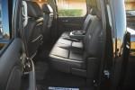 2012 GMC SIERRA 2500 HD 4X4 DENALI rear seats