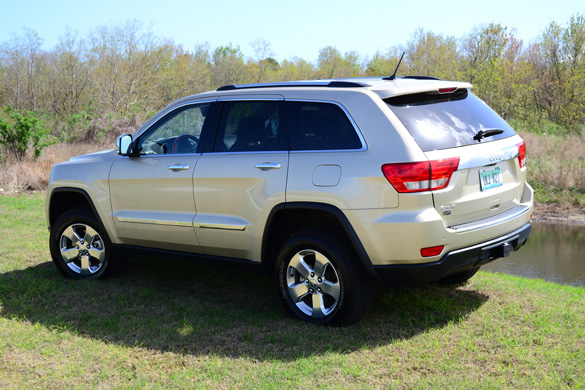 2012 Jeep Grand Cherokee Overland V6 4 4 Review Test Drive