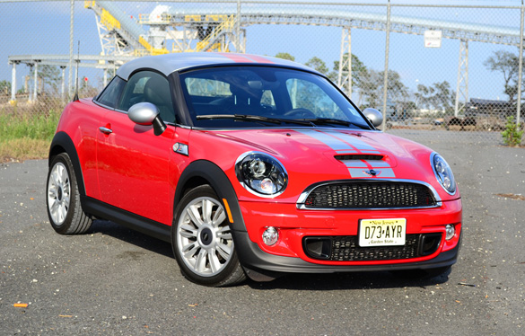 2012 MINI Cooper S Coupe Review & Test Drive