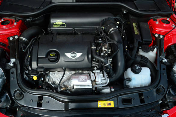 2012 Mini Cooper S Coupe Engine