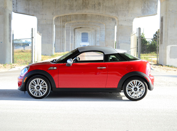 2012 MINI Cooper S Coupe Review & Test Drive | Automotive Addicts
