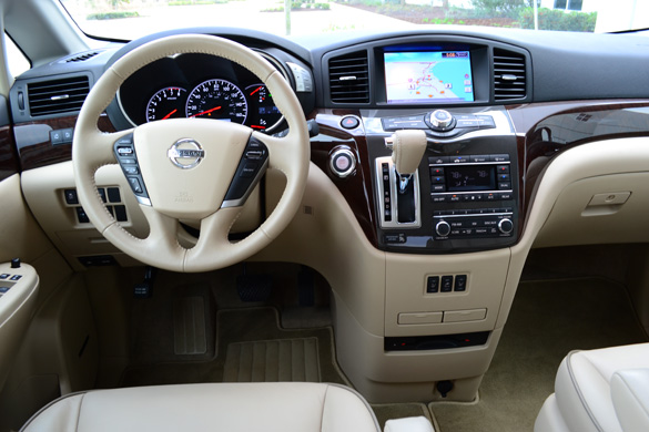 Nissan Quest Le Dashboard