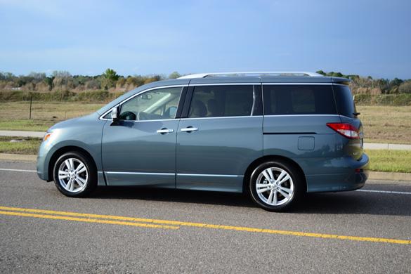 2012 nissan quest le minivan review test drive. Black Bedroom Furniture Sets. Home Design Ideas