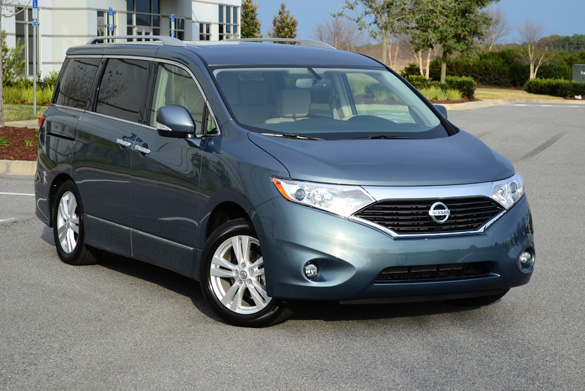 2012 Nissan Quest LE Minivan Review & Test Drive