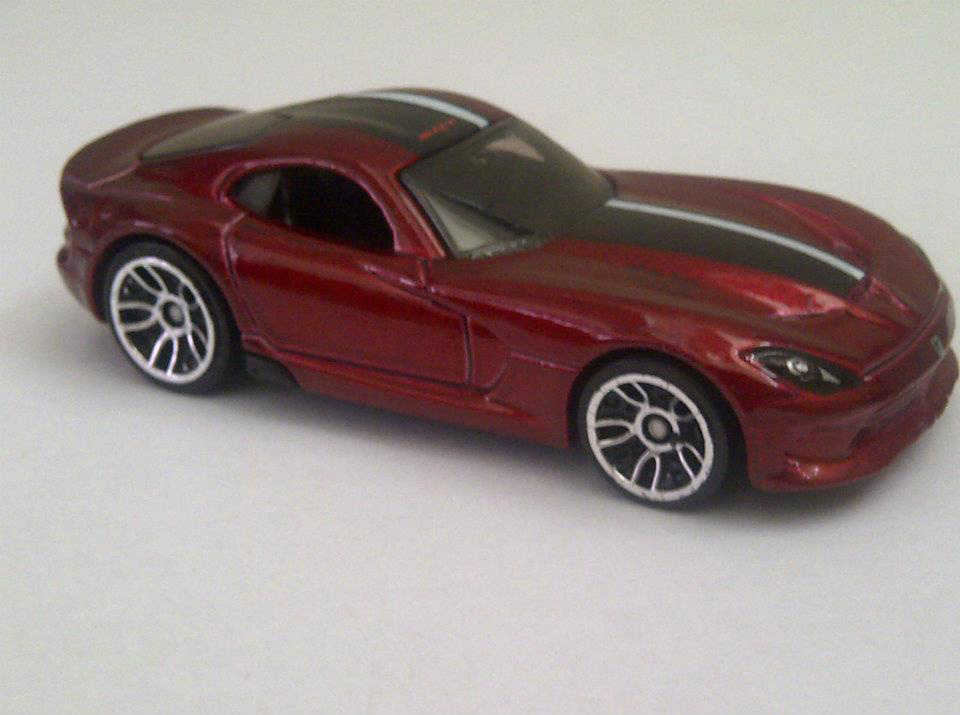 New Viper Hot Wheels Car Gives Another Glimpse of 2013 SRT Viper