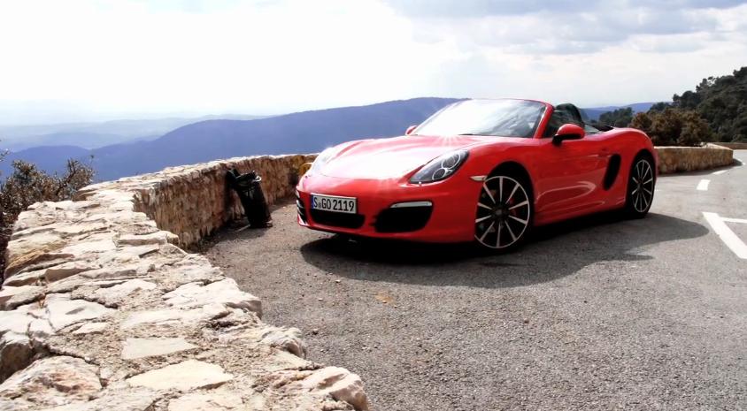 Chris Harris Drives Porsche's New Boxster S: Video