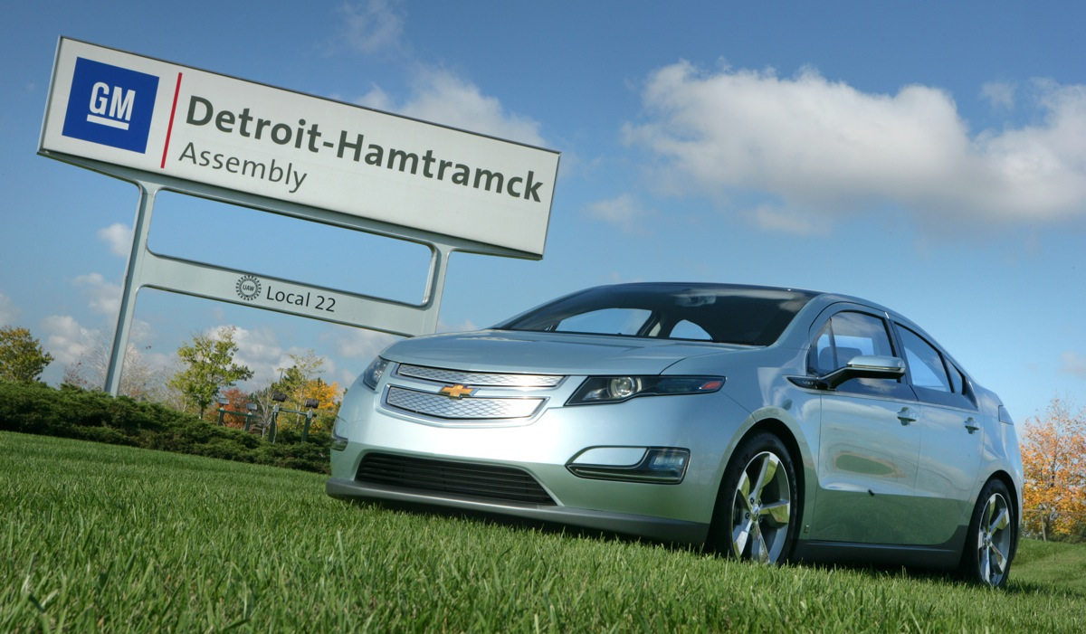 GM Temporarily Halts Chevy Volt Production
