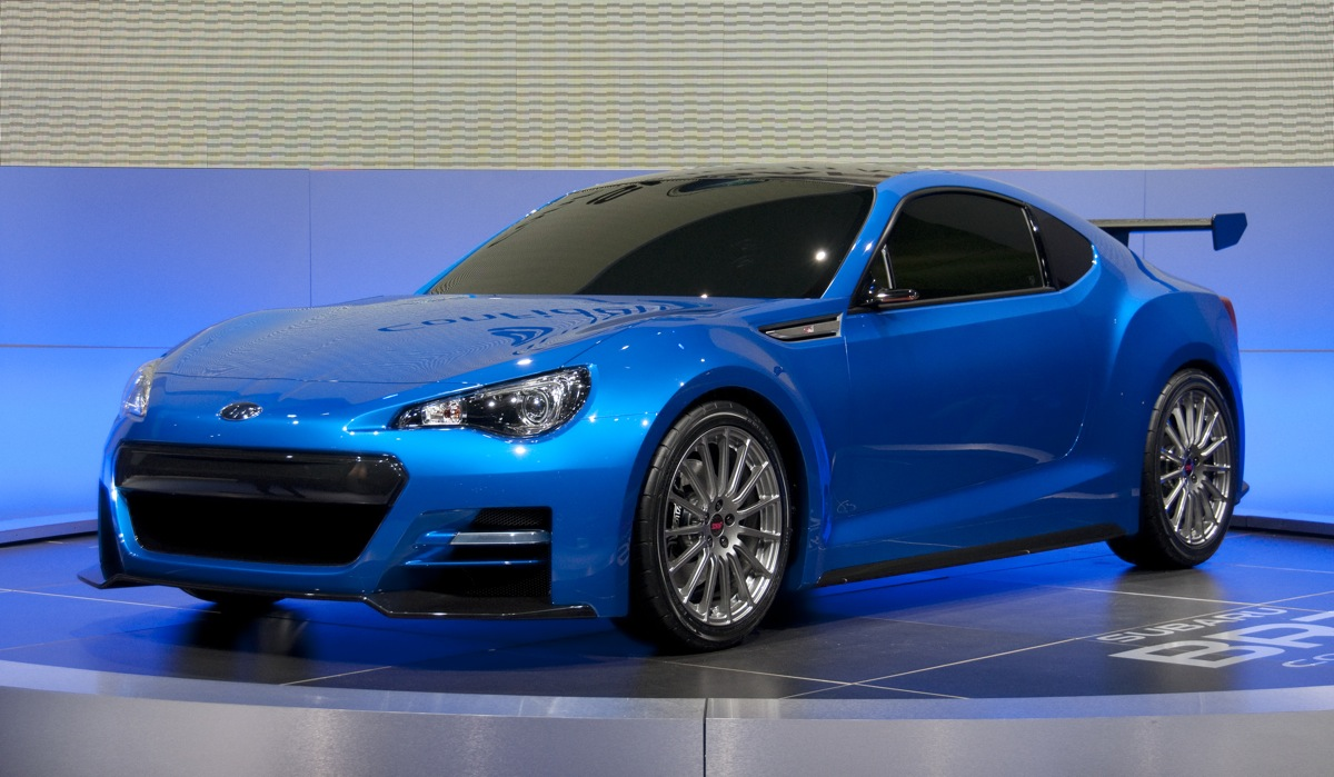 Subaru Confirms Work On A BRZ STI