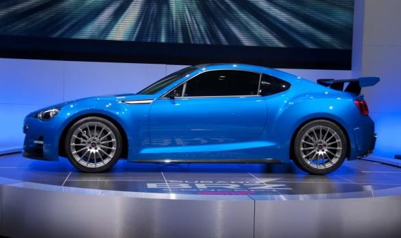 Subaru Confirms Work On A Brz Sti