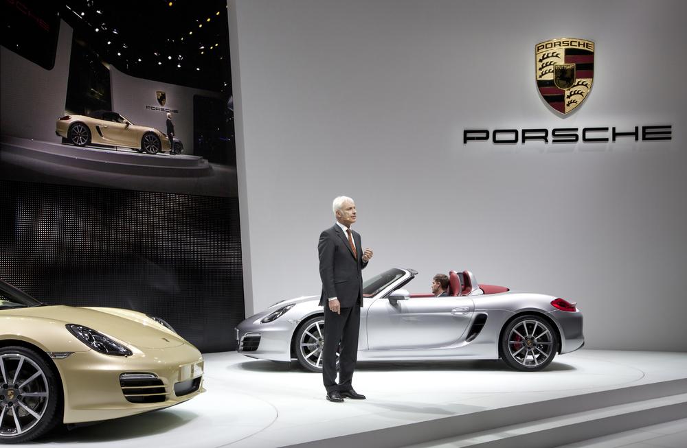 Porsche Debuts All New Boxster At Geneva Motor Show