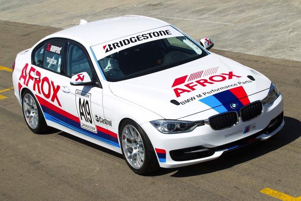 BMW 3 Series F30 Race Cars To Debut in South Africa