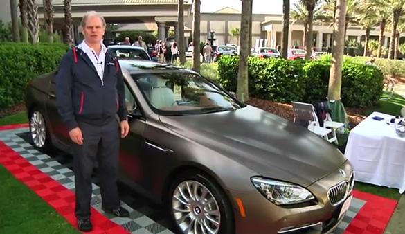 BMW 6 Series GranCoupe & BMW M5 Intro Videos from Amelia Island 2012