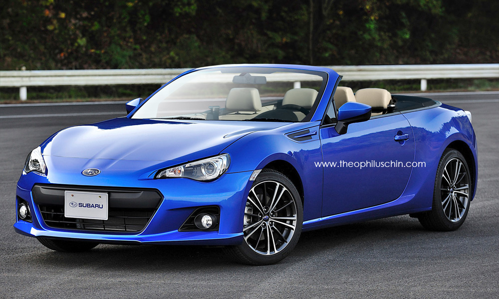 Report Toyota Gt 86 Convertible Confirmed