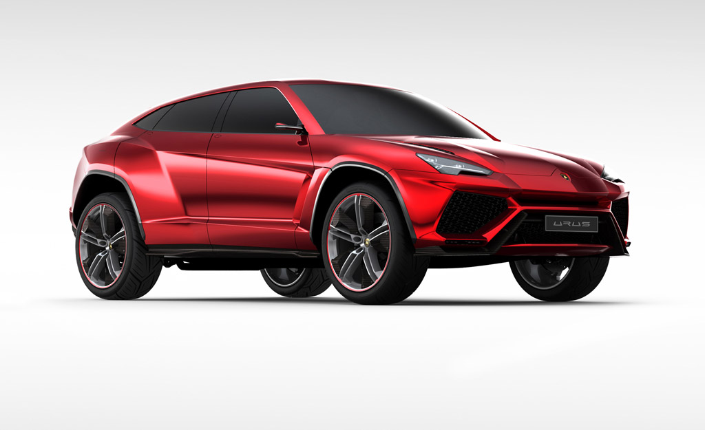 Lamborghini Officially Unveils Urus SUV Concept at Beijing w/Video