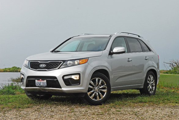 2012 Kia Sorento SX V6 Review & Test Drive