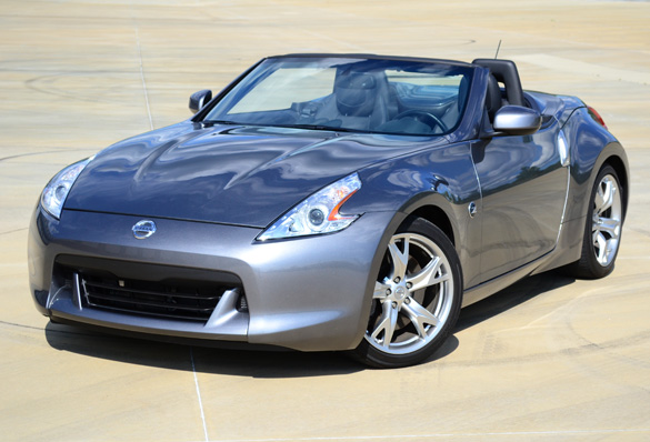 2012 nissan 370z touring sport roadster review top down sports car thrills. Black Bedroom Furniture Sets. Home Design Ideas