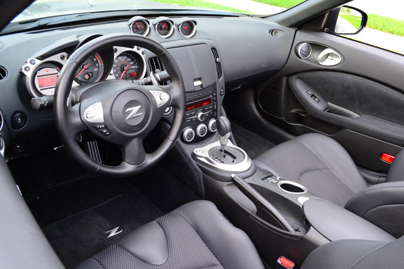 2012 Nissan 370Z Touring Sport Roadster Review – Top-Down ...