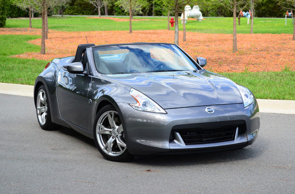 2012 Nissan 370Z Touring Sport Roadster Review – Top-Down Sports Car Thrills