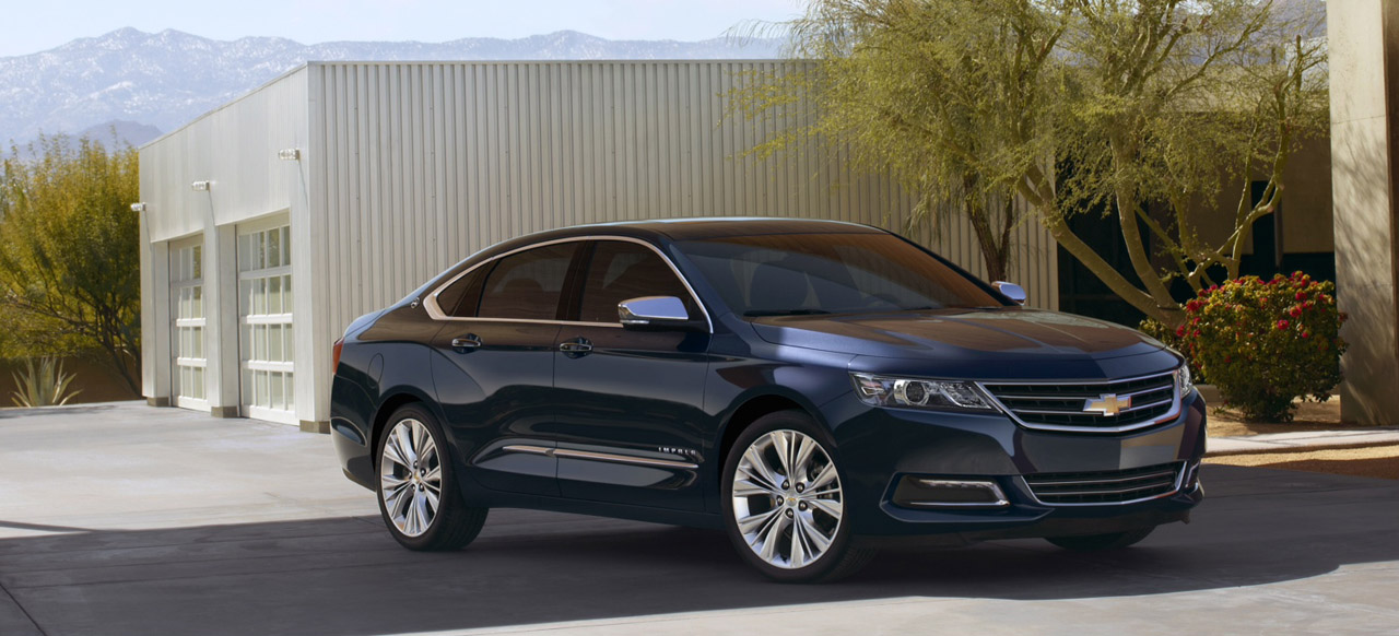 2012 New York Auto Show: 2014 Chevrolet Impala Breaks Cover