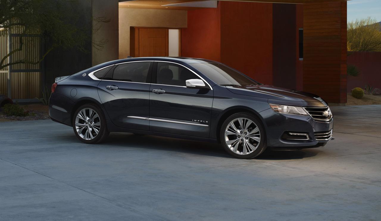 2012 New York Auto Show: 2014 Chevrolet Impala Breaks Cover