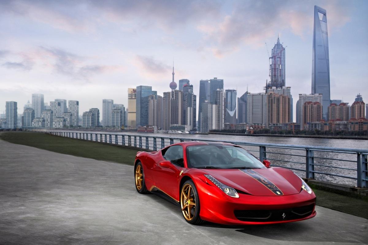 Ferrari Announces Anniversary Edition 458 Italia For The Chinese Market
