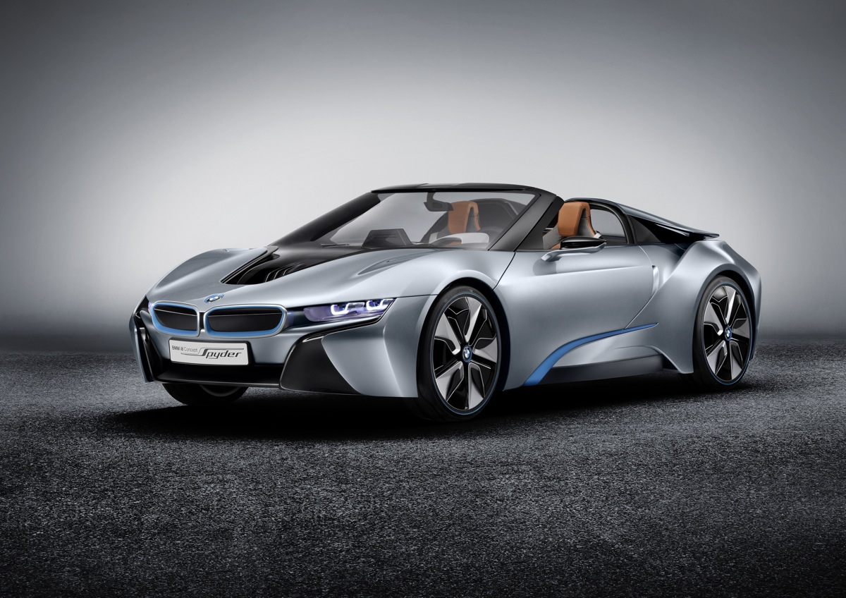 BMW Reveals The i8 Spyder Concept
