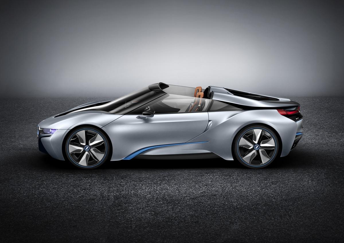 Bmw Reveals The I8 Spyder Concept