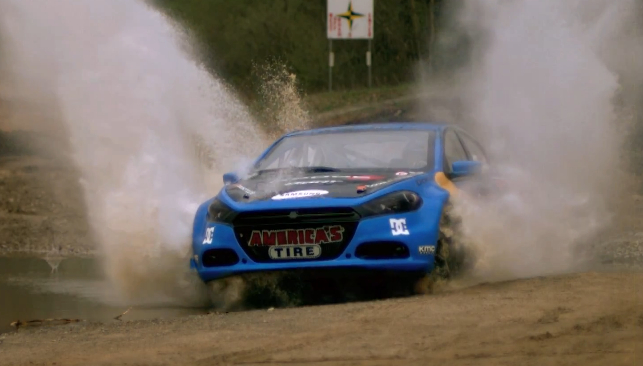 Travis Pastrana Shakes Down The Dodge Dart Rally Car: Video
