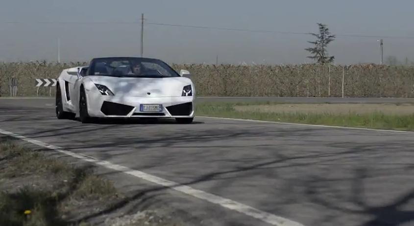 J.F. Musial Meets Lamborghini's Valentino Balboni: Video