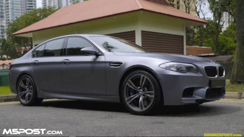 The 2012 BMW M5, With And Without Active Sound: Video