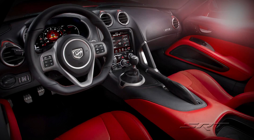 SRT Talks Up The New Viper's Interior: Video