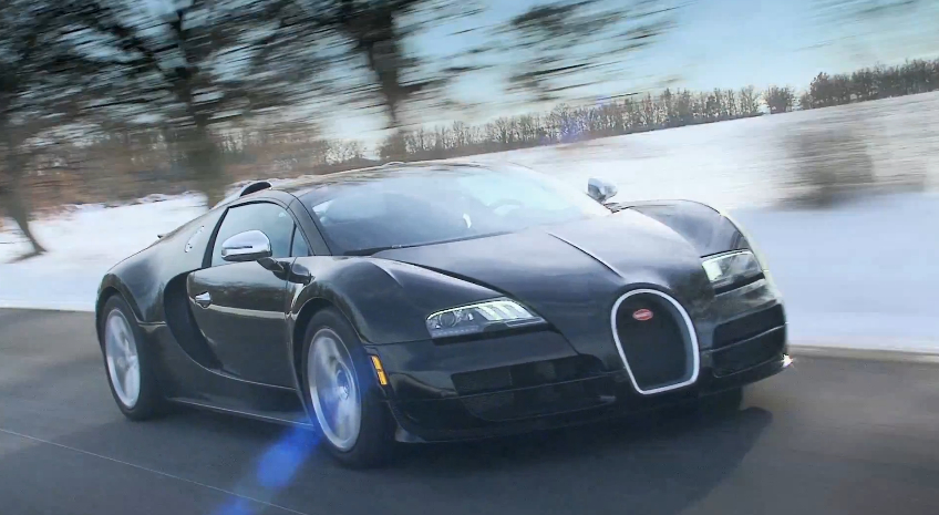 Bugatti's Veyron 16.4 Grand Sport Vitesse Up Close And Personal: Video