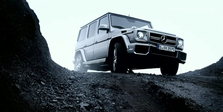 Mercedes Shows Its Latest Uber-SUV, The G 63 AMG: Video