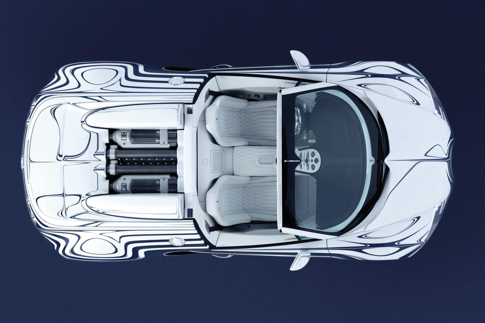 100 hot cars bugatti l or blanc. Black Bedroom Furniture Sets. Home Design Ideas