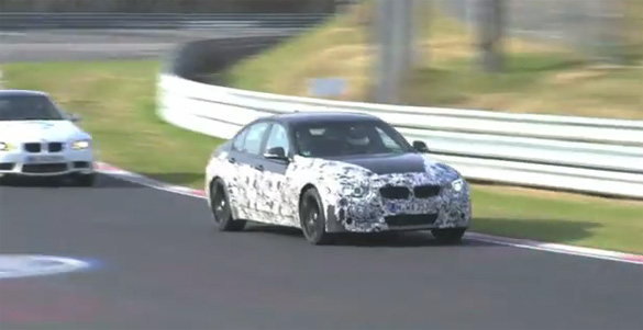 Engine Choice Discussion Ignited Over BMW M3 F30 Spy Video