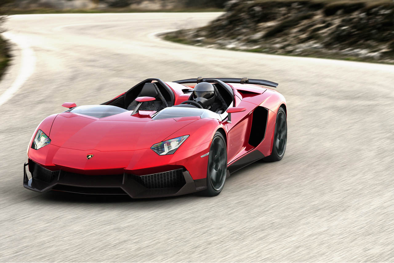 Just Because: Lamborghini Aventador J Promotional Video