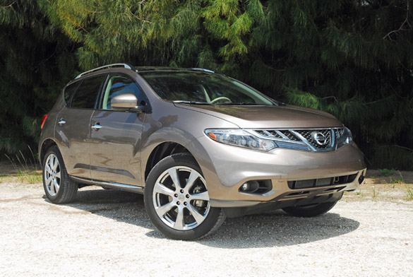 2012 Nissan Murano Platinum Edition Review & Test Drive