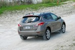 2012 Nissan Murano Platinum Rear Action