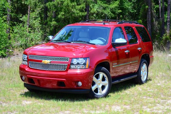 2012 chevrolet tahoe ltz review trailblazing the traditional path. Black Bedroom Furniture Sets. Home Design Ideas