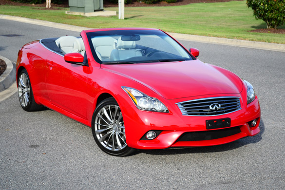 2012 infiniti g37 sport convertible top down luxury sport fun. Black Bedroom Furniture Sets. Home Design Ideas