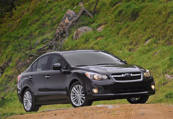 2012 subaru impreza pzev limited sedan review test drive. Black Bedroom Furniture Sets. Home Design Ideas