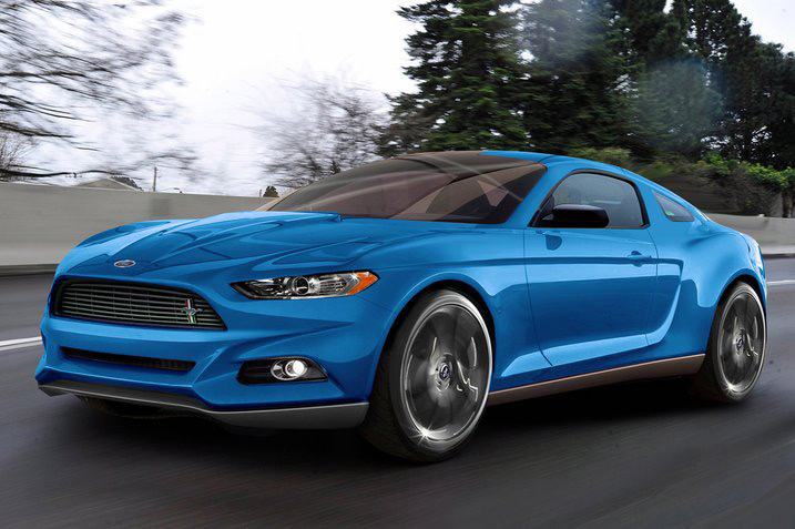 Speculations Amidst: 2015 Ford Mustang Rendering Draws Skepticism