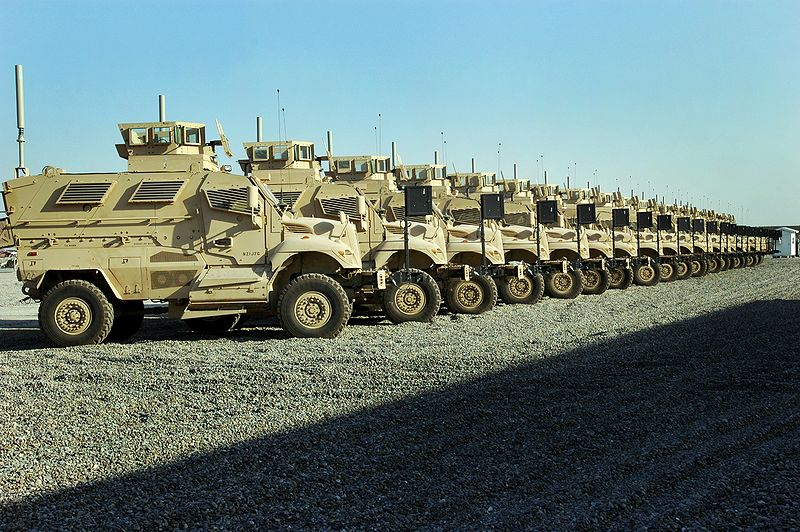 Forget The Escalade, Give Me An MRAP