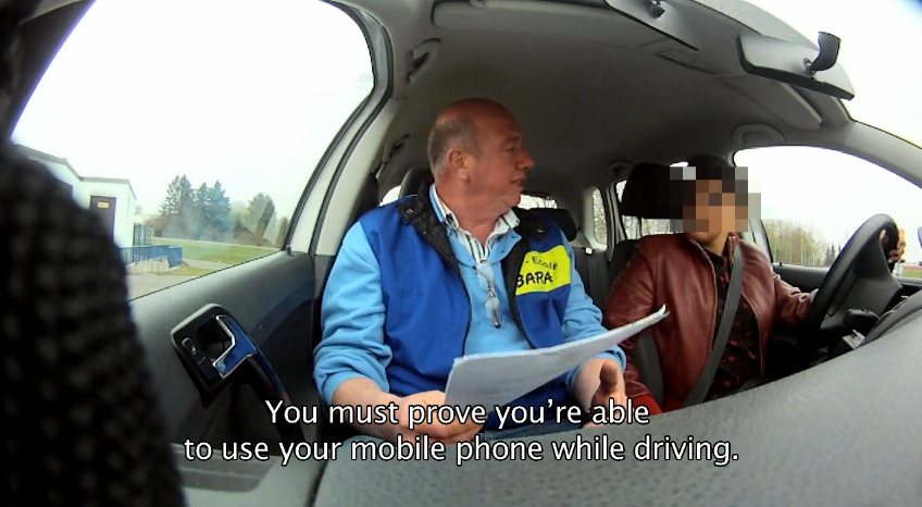 Video: Texting While Driving Really Does Impair Reaction Time
