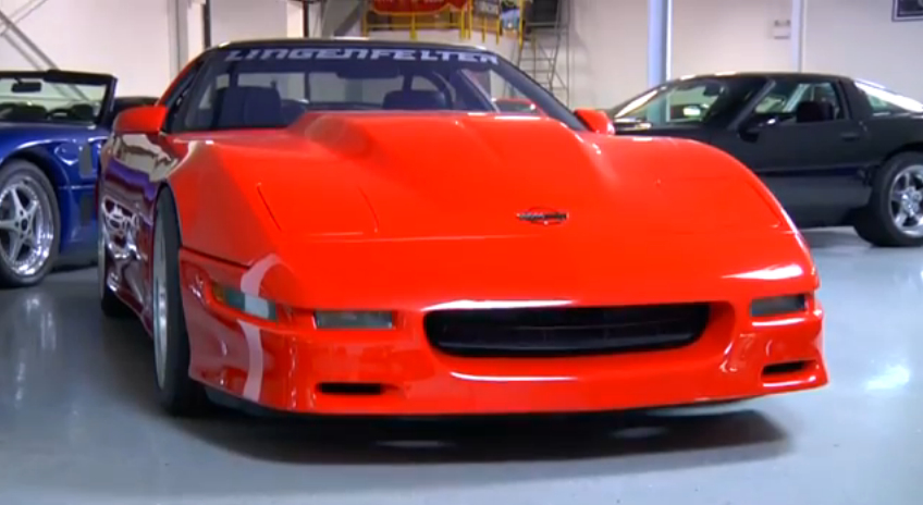 Big Muscle Visits The Lingenfelter Collection: Video
