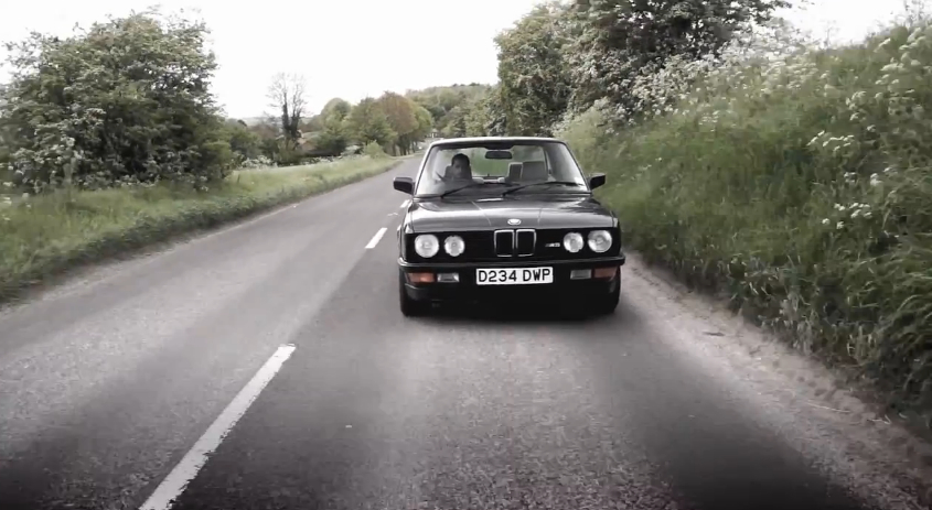 Chris Harris Remembers Why He Loves His E28 BMW M5: Video