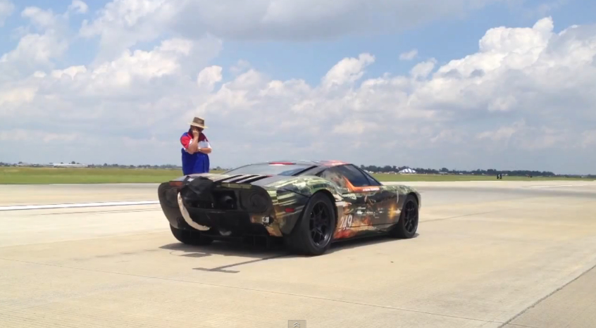 Hennessey-Tuned Ford GT Breaks Standing Half-Mile Record: Video
