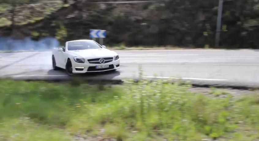 Chris Harris Drives The Bipolar Mercedes-Benz SL63 AMG: Video