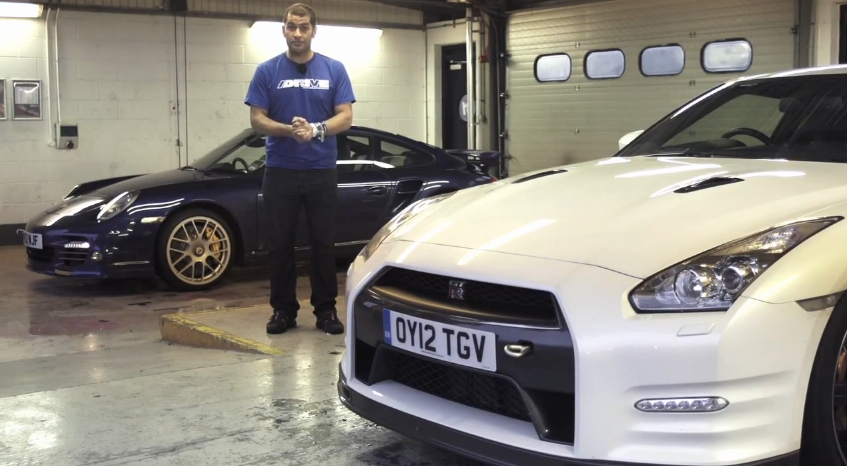 Chris Harris Pits The Nissan GT-R Track Pack Against The Porsche 911 Turbo S: Video